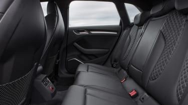 Audi A3 Sportback TFSI rear seats