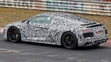Audi R8 rear quater