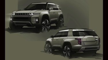 SsangYong J100 electric SUV X2