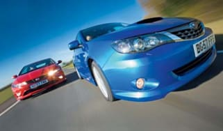 Impreza WRX vs Civic Type R