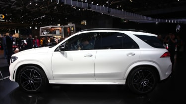New Mercedes GLE side profile