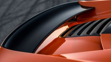 McLaren 650S Spider spoiler