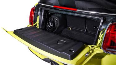 MINI Convertible facelift - boot