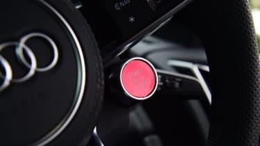 Audi R8 V10 - start button
