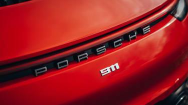 Porsche 911 Carrera S - rear badge