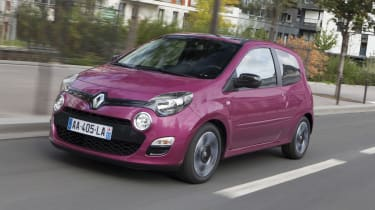 Renault Twingo front tracking