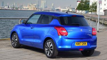 Suzuki Swift - rear static