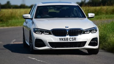 BMW 3 Series LT front