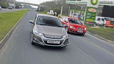 Honda Insight vs. Leon Ecomotive