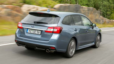 All Levorgs will come with Subaru's excellent four-wheel-drive system.