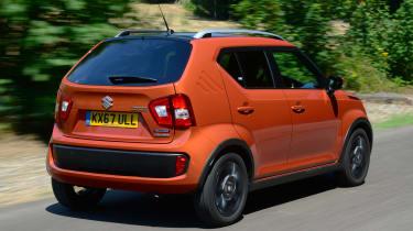 Suzuki Ignis - rear driving