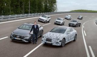 Mercedes EV plan