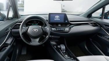 Toyota C-HR EV - dash