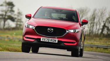 Mazda CX-5 - front cornering