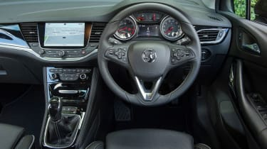 3.The Astra takes Vauxhall's already impressive interior design and moves it on even further with the addition of some great tech.