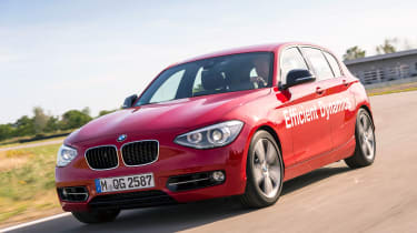 BMW 1 Series Direct Water Injection - front action