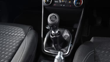 Ford Fiesta long term test - first report centre console