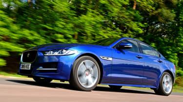 Jaguar XE Long term test - front tracking 3