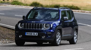 Jeep Renegade - cornering
