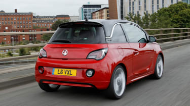 Vauxhall Adam rear tracking