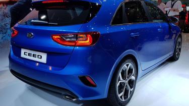 new Kia Ceed rear