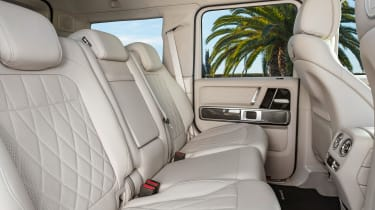 New Mercedes-AMG G 63 - back seats