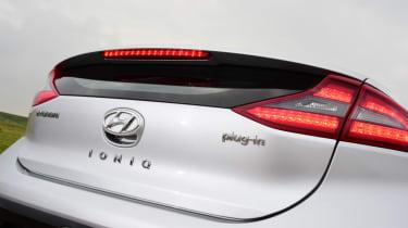 Hyundai Ioniq - rear detail