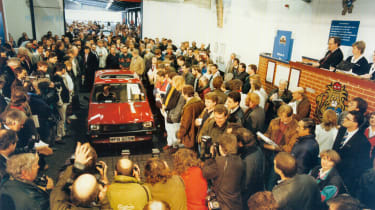 70 Years of British Car Auctions - Princess Di's Metro