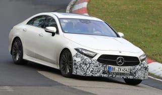 Mercedes CLS - spyshot 1