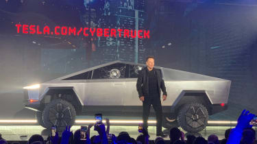 Tesla Cybertruck launch event