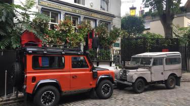 INEOS Projekt Grenadier - Grenadier pub