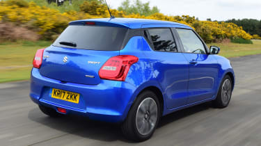 Suzuki Swift - rear