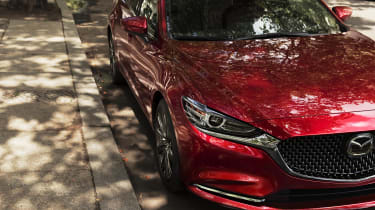 New Mazda 6 front