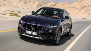 Maserati Levante - front tracking