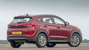 Used Hyundai Tucson - rear