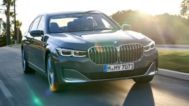 BMW 750i - front
