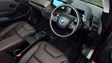 BMW i3s - cabin