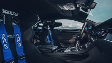 Bentley Continental GT ice racer - interior