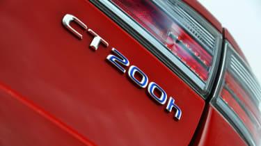 Lexus CT 200h badge