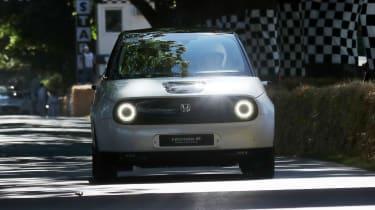 Honda e - Goodwood run 2019