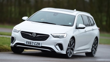 Vauxhall Insignia GSi Sports Tourer - front cornering