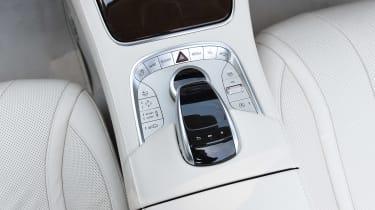 Convertible megatest - Mercedes S 500 Convertible - centre console