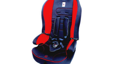 Convertible seats: Little Shield Watch Me Grow £46Another solution with a harness, so this suits nine-month-olds to 12-year-olds. It folds flat for easy storage and is padded for comfort, but lacks the adjustability of more expen