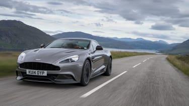 Aston Martin Vanquish - Footballers' cars