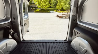 Renault Kangoo Z.E. - load bay detail