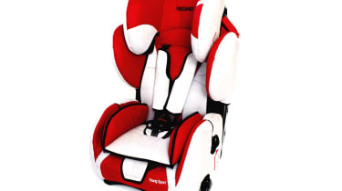 Full seats: Recaro Young Sport £150As your child grows, you remove pieces of the Young Sport. First goes the seat insert, then the five-point harness at around four years old. This chair is for children over nine months, and has