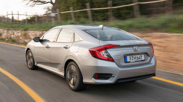 Honda Civic Saloon - rear