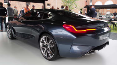 BMW 8 Series Concept - Goodwood rear