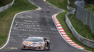 Lamborghini Aventador SVJ wide