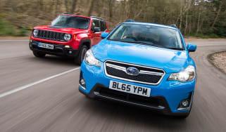 Subaru XV vs Jeep Renegade - header
